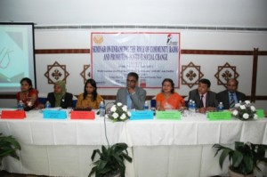The conference urged governments to identify CR as a distinct tier